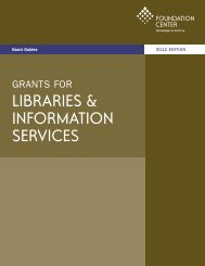 arts, culture & the humanities libraries & information - Governors ...