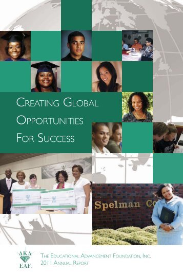 Annual Report - Alpha Kappa Alpha Educational Advancement ...