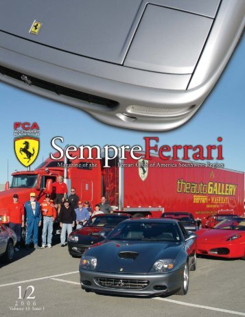 Sempre Jan-Feb 06c.qxd - Ferrari Club of America - Southwest Region