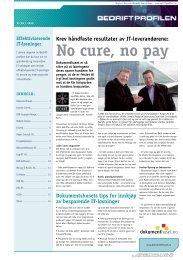 no cure, no pay