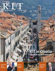 RIT in Croatia - Bad Request - Rochester Institute of Technology