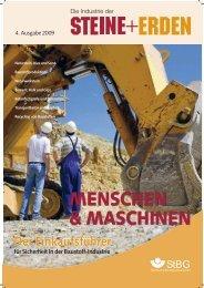MENSCHEN & MASCHINEN - Steine + Erden