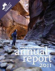 2011 ANNUAL RePORT - National Park Foundation