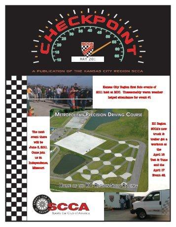 May, 2011 - Kansas City Region, Sports Car Club of America