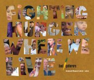 Annual Report 2010 – 2011 - Food Gatherers