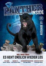 Panther inside Nr. 1 - ERC Ingolstadt