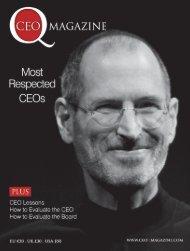 Who Predicted the Financial Crisis - Economic ... - CEO Magazine