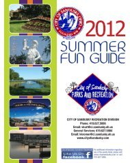 summer fun guide - City of Sandusky