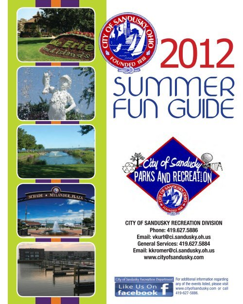 summer fun guide - City of Sandusky