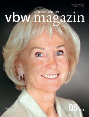 Karin Stoiber - Vereinigung der Bayerischen Wirtschaft