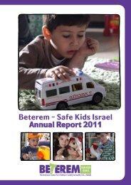 Beterem – Safe Kids Israel Annual Report 2011