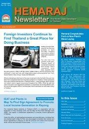 Issue - Hemaraj Land and Development PCL