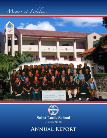 Annual Report - Saint Louis School