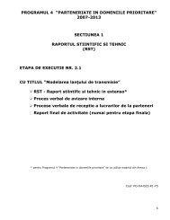 "programul 4 ""parteneriate in domeniile prioritare"" - sicona"
