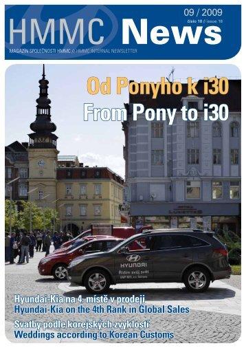 Firemní zpravodaj (ke stažení v pdf) číslo 18 - HYUNDAI Motor ...
