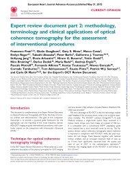 Expert review document part 2 - European Heart Journal