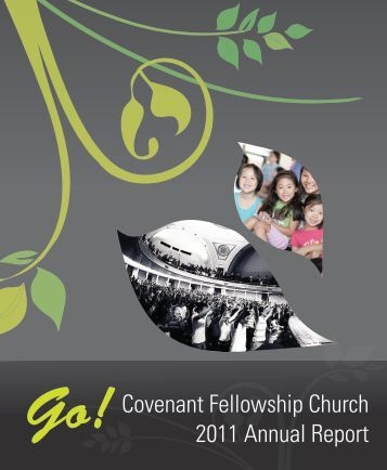 Download Annual Report - Covenant Fellowship Church