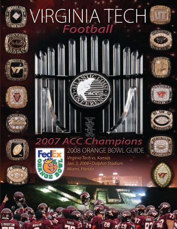 2008 ORANGE BOWL GUIDE - HokieSports
