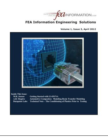 FEA Information Engineering Solutions April 2012
