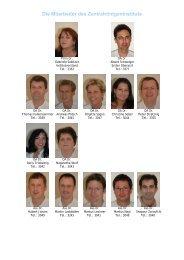 Die Mitarbeiter des Zentralröntgeninstituts