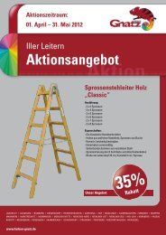 Aktionszeitraum: 01. April – 31. Mai 2012