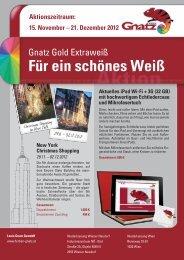 Für ein schönes Weiß - Louis Gnatz GmbH