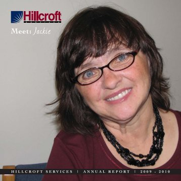 Meet: Jackie - Hillcroft Services
