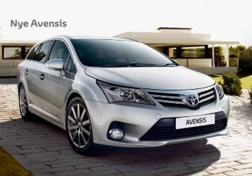 Nye Avensis - Toyota