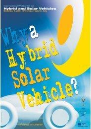 Hybrid and Solar Vehicles - Università di Salerno