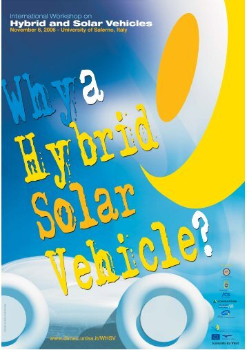 Hybrid and Solar Vehicles - Università di Salerno