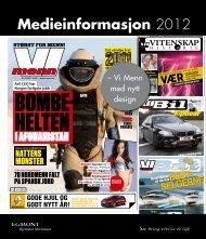 Medieinformasjon 2012 - Egmont Hjemmet Mortensen