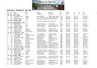 Course 2 / Rennen 2 SS - IS - Racedata