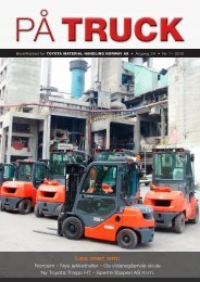 Les bladet her - Toyota Material Handling Norway