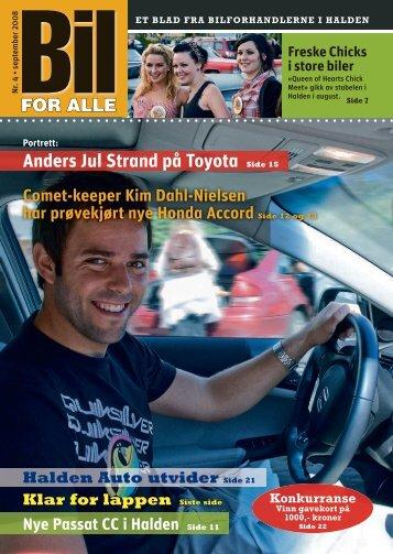 Anders Jul Strand på Toyota Side 15 - Byline
