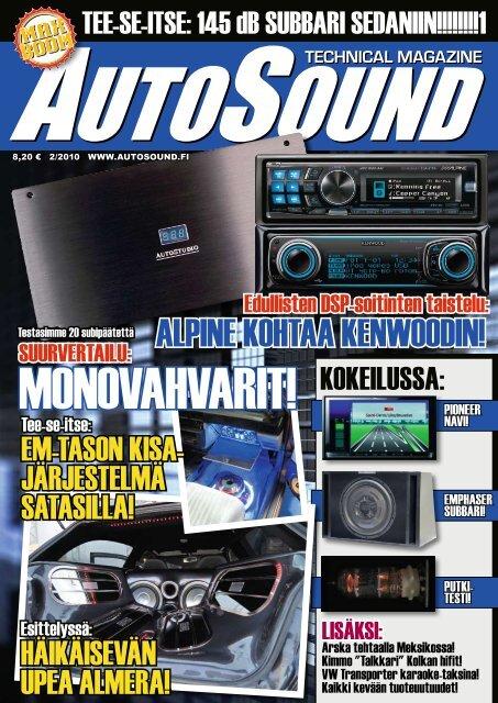 ALPINE KOHTAA KENWOODIN! - AutoSound