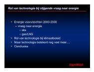 Rol van technologie bij stijgende vraag naar energie