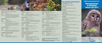 Naturbegegnungen im Ruhrgebiet (Januar–Juni 2011) - des NABU ...