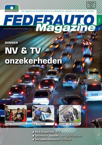 NV & TV onzekerheden - Federauto Magazine