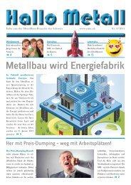 Die aktuelle Ausgabe von Hallo Metall... - SMU