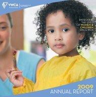 2OO9 annual report - YWCA - Kitchener Waterloo
