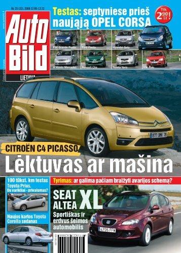 Žurnalas apie automobilius Autobild - Autobild.lt - Veidas.lt