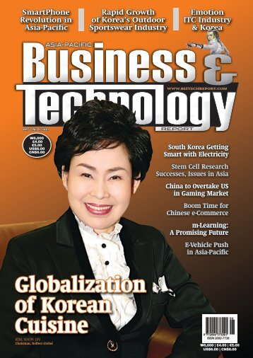 Globalization of Korean Cuisine - Asia-Pacific Business and ...