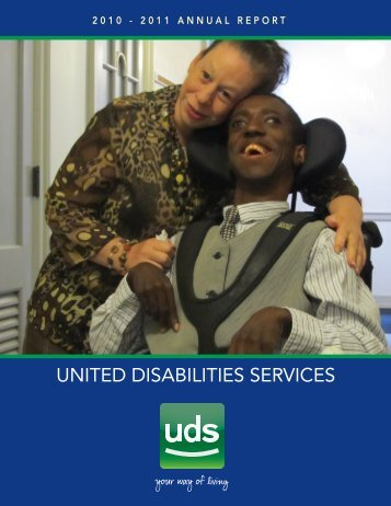 Download our Annual Report - United Disabilities Services