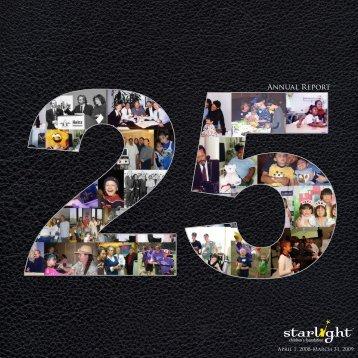 Annual Report - Starlight Children's Foundation