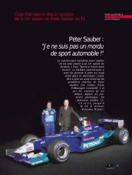 Peter Sauber - Magazine Sports et Loisirs