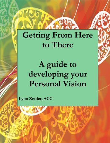 Download Getting from Here to There pdf - LifeAction Coaching
