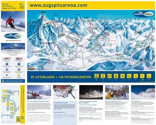 Ski-Info Tarife/Prices Winter 2011/2012 - Ehrwalder Almbahn