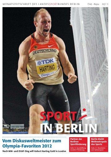 Oktober/November 2011 - Landessportbund Berlin