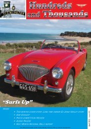 April - Austin Healey Owners Club
