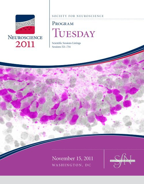 nanosymposium Society for Neuroscience